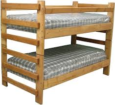 Wooden Bunk Beds Log Bunk Beds For Those Who Love The Natural Impression Home