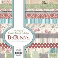 bo bunny designer bloc garden journal collection hobby crafts24