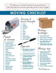 packing and moving checklist tips and overnight storage