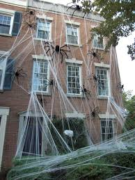 Frugal Outdoor Halloween Decorations by Best 25 Spider Decorations Ideas On Pinterest Halloween Spider