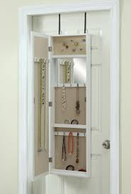 Mirrored Jewelry Armoire Ikea Bring Home Functional Style With An Over The Door Mirror
