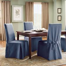 Target Living Room Chairs Living Room Cotton Duck Full Length Dining Chair Slipcovers