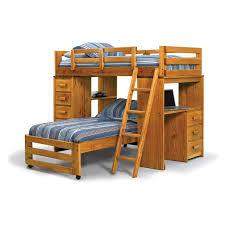 Bunk Beds With Desk Underneath Metal Loft Bunk Bed With Corner - Twin bunk bed with desk