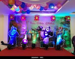 Music Party Theme Decorations Kung Fu Panda Themed Birthday Party Decoration At Sozhia Chettiyar