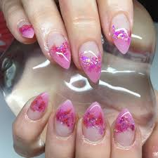 nail designs half beautify themselves with sweet nails
