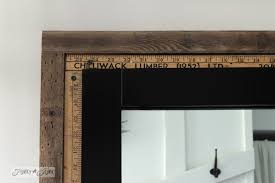 salvaged farmhouse bathroom makeover with vintage trimfunky junk
