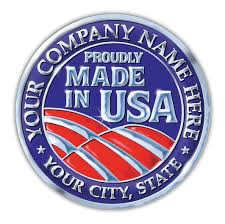 made in usa stickers made in usa decals