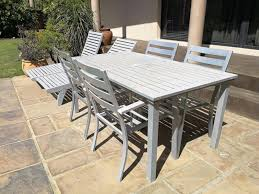 Aluminium Patio Sets For Sale 4 Seater Thick Aluminium Patio Set With Chairs In Solid