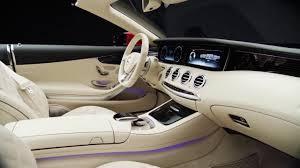 mercedes maybach s 650 cabriolet u2013 interior design trailer