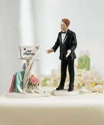 Wedding Cake Joke 10 Hilarious Wedding Cake Toppers Tell It Like It Really Is