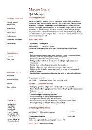 Qa Analyst Resume Sample by Qa Resume 15 Sample Resume For Qa Tester Samples Sample For Manual