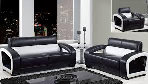 Modern Leather Sofa Black Living Room Furniture Living Room L Shape Black Leather Sofa
