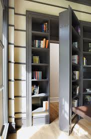 Modern Bookcases With Doors 10 Secret Doors Compartments And More Luxeworthy