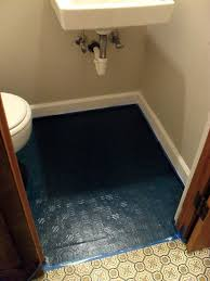 Cheap Bathroom Floor Ideas Colors Best 25 Painted Linoleum Floors Ideas On Pinterest Painting