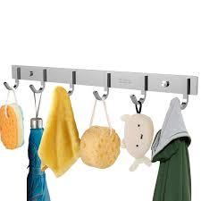 amazon com ounona wall coat rack coat hooks wall mounted