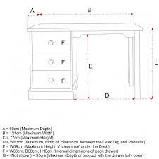 child u0027s pedestal desk antique white