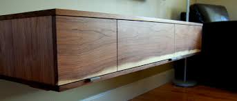 walnut media cabinet contemporary home theater denver by