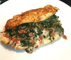 cheesy spinach and rotel stuffed chicken breast easyhealth living