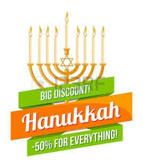 hanukkah candles for sale hanukkah sale or discount design for emblem sticker with menorah