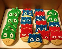 pj mask cookie etsy