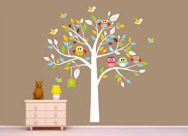 Kids Room Wallpaper Ideas by Nursery Murals Nursery Room With Owls Nursery Mural Wallpaper