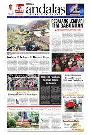 epaper andalas edisi senin 21 maret 2016 by media andalas issuu