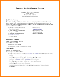 resume summary exles exle of qualifications on resume qualification in cv exles