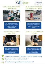 level 2 award in basic life support and anaphylaxis