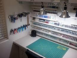 model work bench great paint racks hobby ideas pinterest
