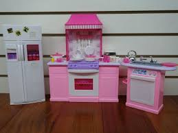 Barbie Kitchen Furniture Unfinished Wood Dollhouse Barbie Sized Furniture 5 Sets For Over 3