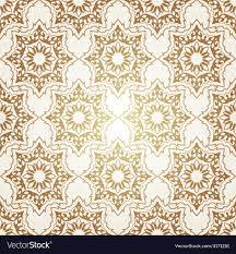 Pattern Ottoman Decorative Seamless Pattern In Ottoman Motif Vector Image