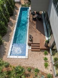 swimming pool ideas for small backyards 30 awesome narrow pools for the tightest spaces digsdigs