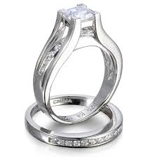 silver wedding ring sets sterling silver wedding rings elite wedding looks