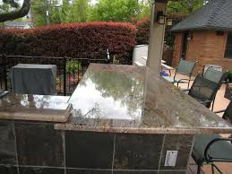 granite counter tops for outdoor bbq northwest custom stone