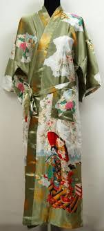 geisha kimono peignoir robe de chambre yukata japonais amazon fr