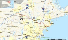 Boston Road Map by Massachusetts Route 129 Wikipedia