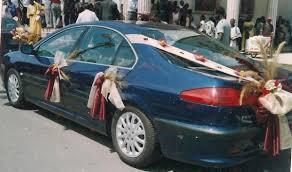 deco mariage voiture décoration de voiture pour mariage de gracedeco1