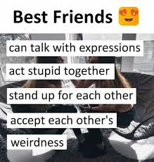 Stupid Friends Meme - dopl3r com memes best friends can talk with expressions act