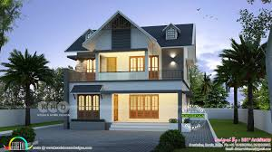 u20b942 lakhs cost estimated european style home kerala home design