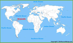 grenada location on world map grenada location on the world map