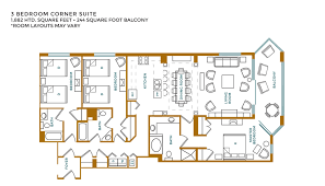 double master bedroom floor plans 3 bedroom suites at island vista resort myrtle beach