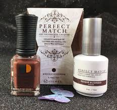 lechat perfect match gel polish u0026 nail lacquer risqué business