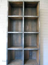 furniture comely image of large wheel metal and wood bookcase as