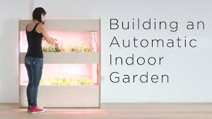 setting up an automatic indoor garden customizing a click and