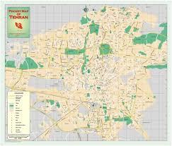tehran satellite map tehran map tehran iran mappery