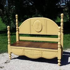 Bench From Headboard Best 25 Benches From Headboards Ideas On Pinterest Old Benches