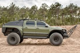 toyota tacoma jacked up now you can own the monster toyota tacoma that conquered the south