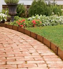 cheap garden border edging ideas with deluxe fetching flower stone