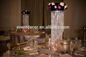 crystal chandelier table centerpieces for weddings