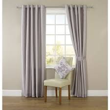 wilko faux silk eyelet curtains silver 228 x 228cm at wilko com